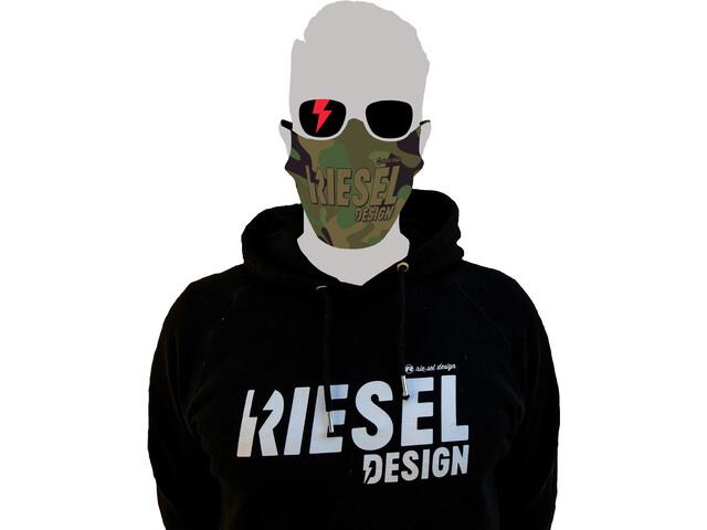 Riesel Design Face Mask camo